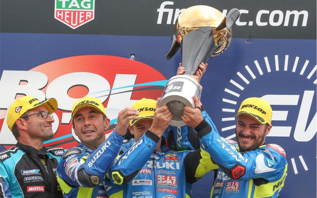 Suzuki Endurance Racing Team gewinnt EWC Eröffnungsrennen Bol d'Or