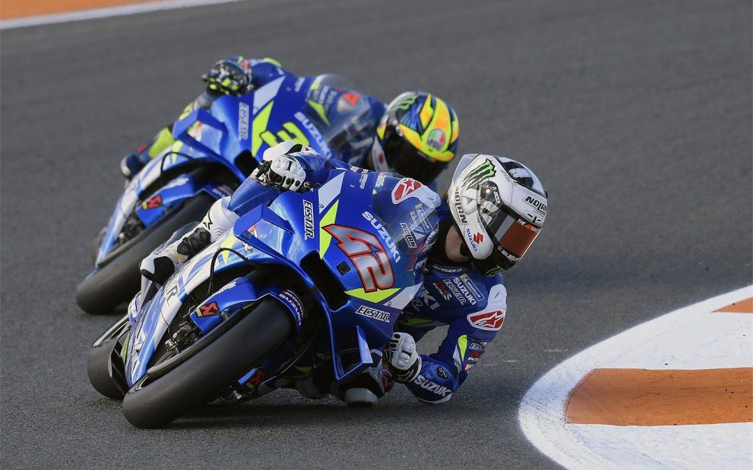 TEAM SUZUKI ECSTAR BEENDET DIE MotoGP-SAISON IN VALENCIA AUF PLATZ 5 UND 7